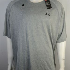 Under Armour Men's T-Shirt 3XL Loose fit Gray